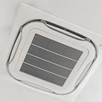 天井取付型エアコンクリーニング(業務用エアコン)《簡易清掃》